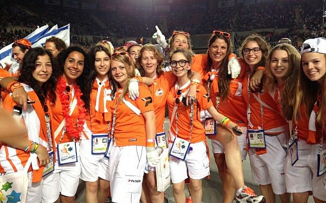 The women's soccer team of the Netherlands (photo credit: Courtesy)