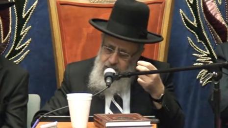 Sephardi chief rabbi pick Yitzhak Yosef (photo credit: Youtube/screengrab)