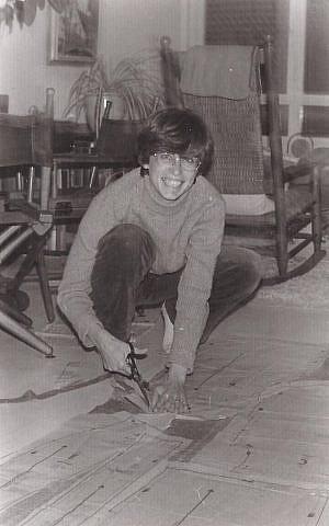 Anita Spindel in November 1979 (Photo credit: courtesy: Tali Griffel)