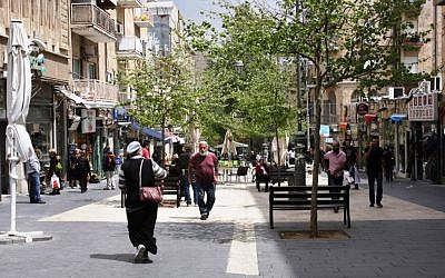 Ben Yehuda Street (photo credit: Shmuel Bar-Am)