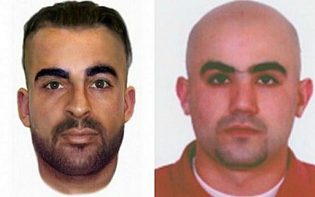 These headshots provided by the Bulgarian Interior Ministry shows Canadian citizen Hassan El Hajj Hassan, right, and Australian citizen Meliad Farah, also known as Hussein Hussein, left, both suspected of being involved in the July 2012 Burgas bombing. (courtesy Bulgarian Interior Ministry)