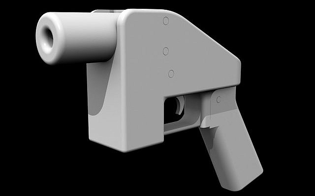 A handgun that can be manufactured with a 3D printer (photo credit: CC BY-ND Electric-Eye, Flickr)