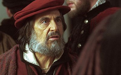 Al Pacino as Shylock in the Michael Radford-directed 2004 production of Shakespeare's 'The Merchant of Venice' (courtesy Sony Pictures Classics)