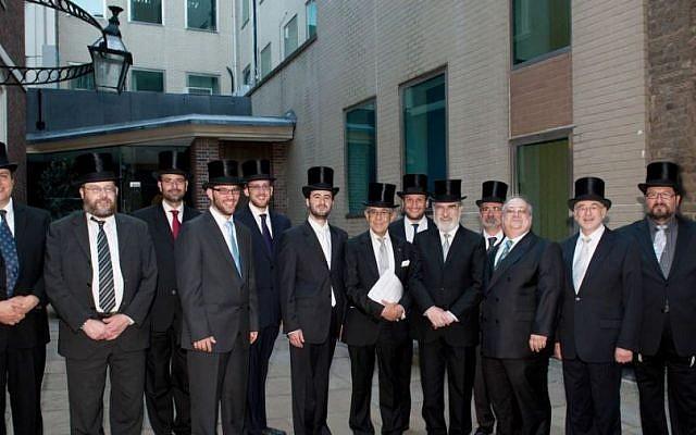 Ten fresh British Orthodox rabbis (photo credit: courtesy)