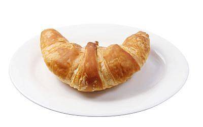 A croissant. (Croissant.)