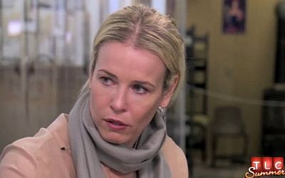 Chelsea Handler on TLC's Who Do You Think You Are. (photo credit: screen capture/TLC)
