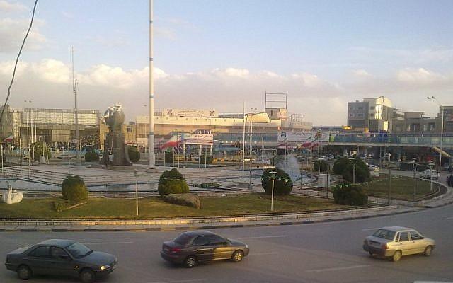 The city of Kerman, Iran (CC BY-SA Farshid7/Wikimedia Commons)