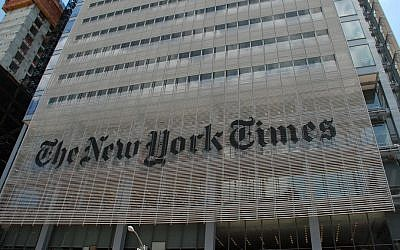 The New York Times building in New York City (CC BY-Joe Shlabotnik/Flickr)