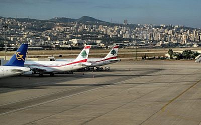 The airport in Beirut (photo credit: CC BY-fran001@yahoo.com/Flickr)