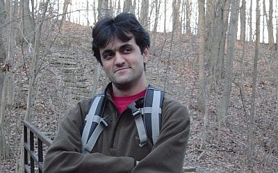 Blogger Saeed Malekpour (photo credit: Facebook)