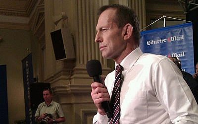 Tony Abbott. (CC BY David Jackmanson, Flickr)