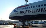 Illustrative image of a British Airways plane at London's Heathrow Airport (Panhard/Wikimedia Commons)