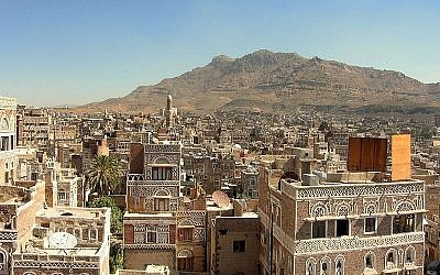 Saana, capital of Yemen (photo credit: CC BY Ai@ce/Flickr)