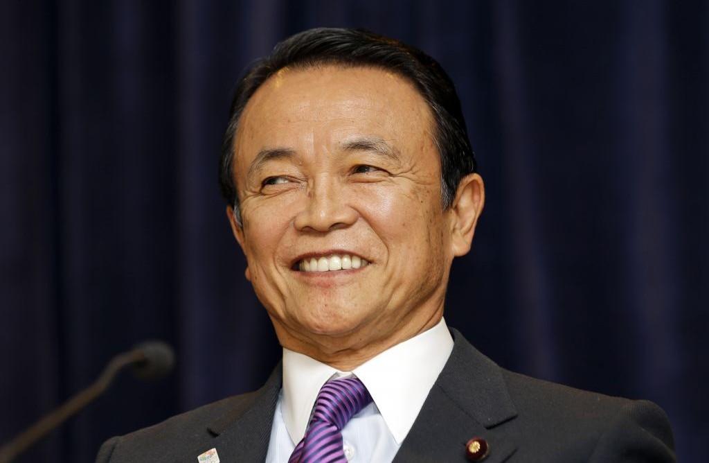 Japan's Aso: Must