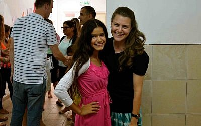 Head counselor Adina Minkowitz, right, says the camps are the ideal place for people looking to truly give back to Israel. (photo credit: courtesy Counterpoint)