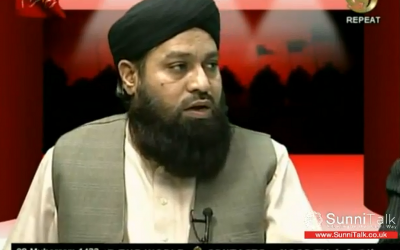 Allama Muhammad Farooq Nizami remained on Noor TV for a year after his televised call to kill those who insult Mohammed. (YouTube)