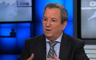 Former prime minister Ehud Barak speaking on CNN's Fareed Zakaria GPS on August 9, 2013. (screen shot: www.cnn.com)