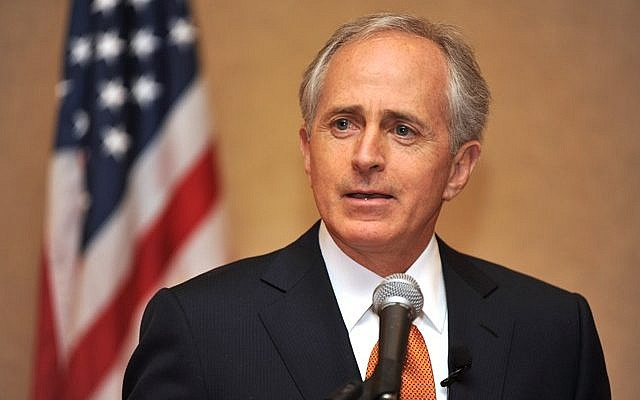 Senator Bob Corker, R-TN (photo credit:: CC BY-SA, byUS Congress, Wikimedia Commons)