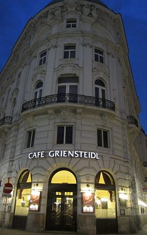 Theodor Herzl, who'd died nearly a decade earlier, had joined other prominent thinkers in fleshing out his ideas at Cafe Griensteidl. (Matt Lebovic)