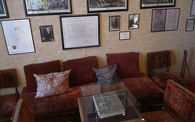 Sigmund Freud's waiting room is now open to the public. (Matt Lebovic)