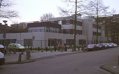 The Orthodox Cheider school in Amsterdam in the Netherlands. (JTA)