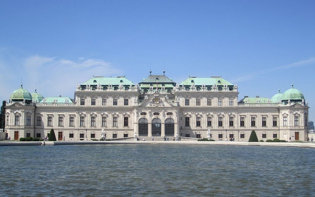 Once home to Franz Ferdinand, the heir to the Austro-Hungarian throne, Belvedere Palace now stands as a relic of the vanquished empire. (Matt Lebovic)