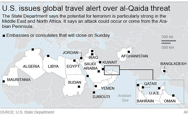 US issues global travel alert, citing al-Qaeda | The Times ... on global search, global security issues, global coffee, global aid, global light, global pandemonium, global success, global information, global audit,