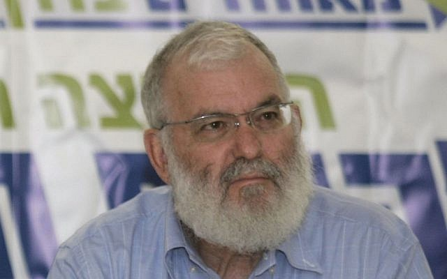 Former Israeli national security adviser Yaakov Amidror. (Olivier Fitoussi/Flash90)