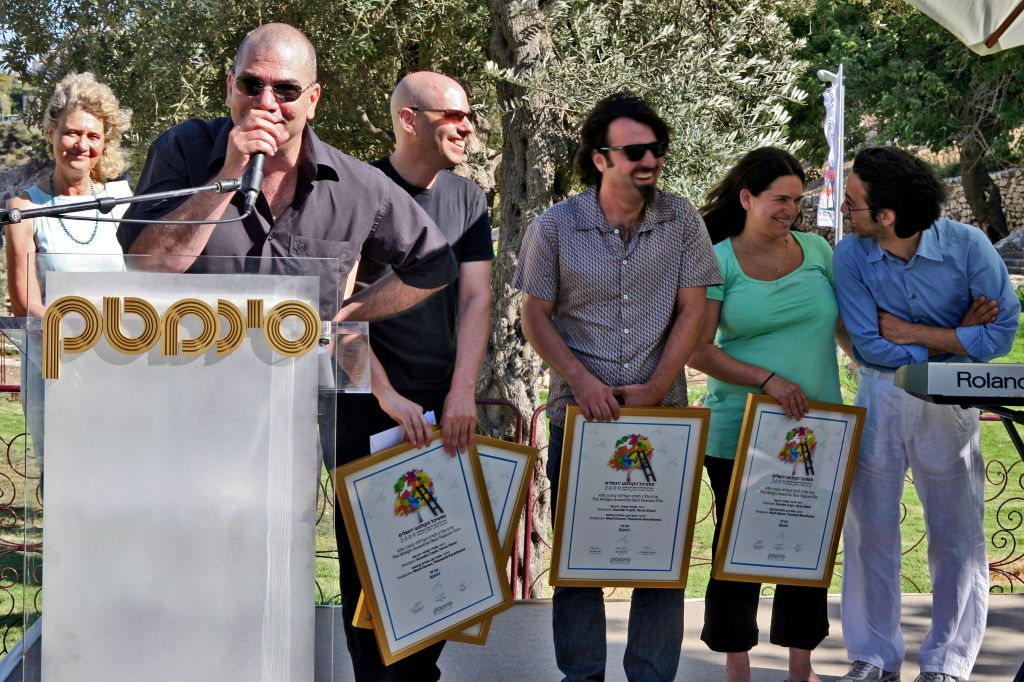 Various prizes are awarded during the annual festival, as the Cinematheque is seen as an institution that has helped promote Israeli filmmaking (photo credit: Matanya Tausig/Flash 90)