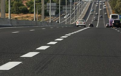 Illustrative photo: Drivers on a road. (photo credit: Nati Shohat/Flash90)