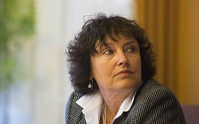 Bank of Israel governor Karnit Flug (Photo credit: Yonatan Sindel/Flash90)