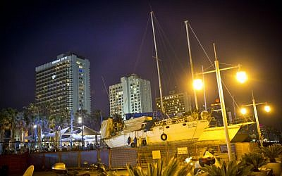 Illustrative photo of boats docked at the Tel Aviv marina (photo credit: Moshe Shai/Flash90)