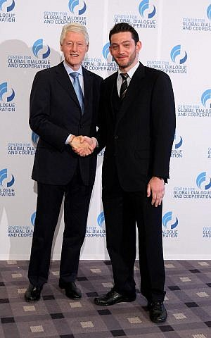 Sichrovsky and his organization have attracted an important new ally in Bill Clinton. (Courtesy of the Muslim-Jewish Conference)