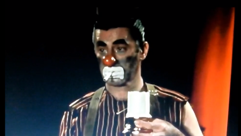 Jerry Lewis in 'The Day the Clown Cried' (photo credit: Screenshot/YouTube)