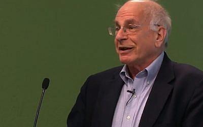 Prof. Daniel Kahneman (image capture: YouTube)