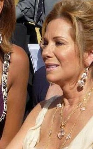 Kathie Lee Gifford (photo credit: Greg Hernandez/Flickr/Wikipedia)