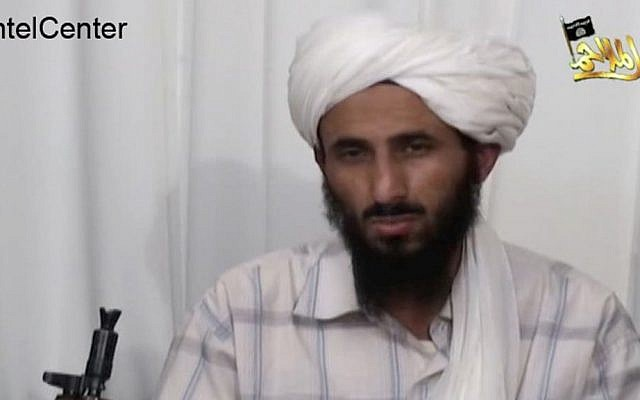 Nasser al-Wahishi. from a video released on January 23. 4009. (photo credit: AP Photo/IntelCenter, File)