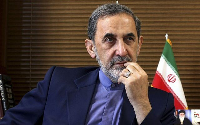 Ali Akbar Velayati, a top adviser to Iran's Supreme Leader Ayatollah Ali Khamenei. (AP Photo/Ebrahim Noroozi)