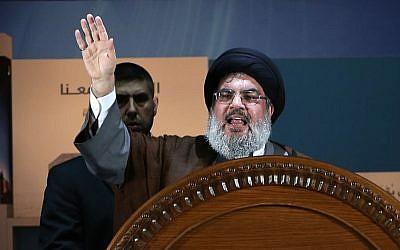 Hezbollah leader Hassan Nasrallah (AP/Hussein Malla)