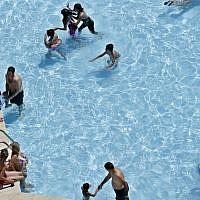Illustrative photo of a swimming pool (AP/Hassan Ammar)