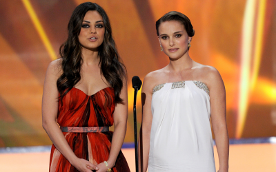 Mila Kunis (left) and Natalie Portman are rolling in kosher dough. (Courtesy of JTA)