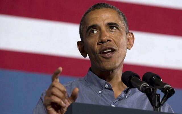 US President Barack Obama (photo credit: AP Photo/Jacquelyn Martin)