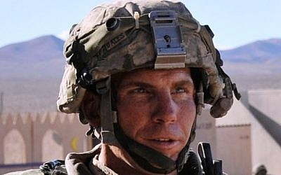 Staff Sgt. Robert Bales pictured at the National Training Center at Ft. Irwin, California, in 2011 (photo credit: Ryan Hallock/US Army)