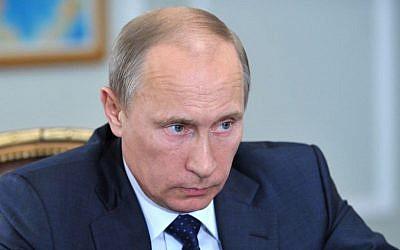 Russian President Vladimir Putin (Photo credit: AP/RIA Novosti, Alexei Nikolsky, Presidential Press Service)
