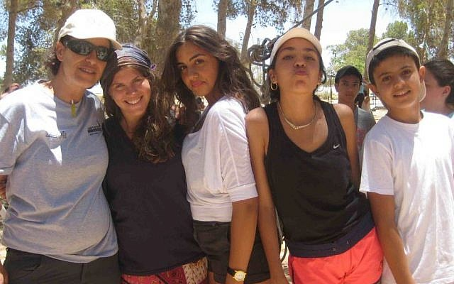 YU Counterpoint Israel counselors and campers (photo credit: courtesy Counterpoint)