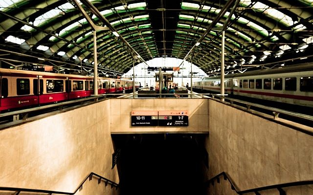 Berlin East railway station in Berlin, Germany. (photo credit: CC BY Daniel Foster/Flickr original photo)