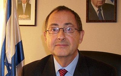 Israel's ambassador to Chile, David Dadonn (photo credit: Israeli Embassy in Chile)