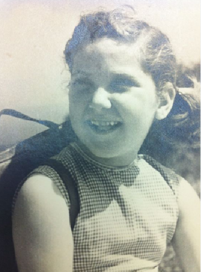 Sports and Culture Minister Limor Livnat (Likud) as a young girl. (photo credit: via Facebook)