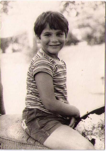 MK Nitzan Horowitz as a little boy (photo credit: via Facebook)