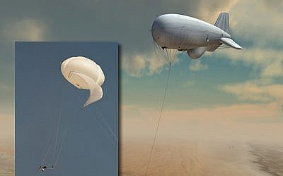 The Israeli defense company, RAFAEL, makes the STRATUS aerostat system. (Photo credit: Courtesy RAFAEL Advanced Defense Systems, Ltd.)